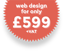 Web design for £599+VAT